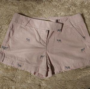 J Crew Zebra Shorts
